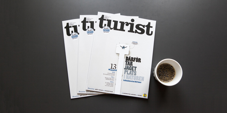 Nytt nummer turist svenska turistföreningen